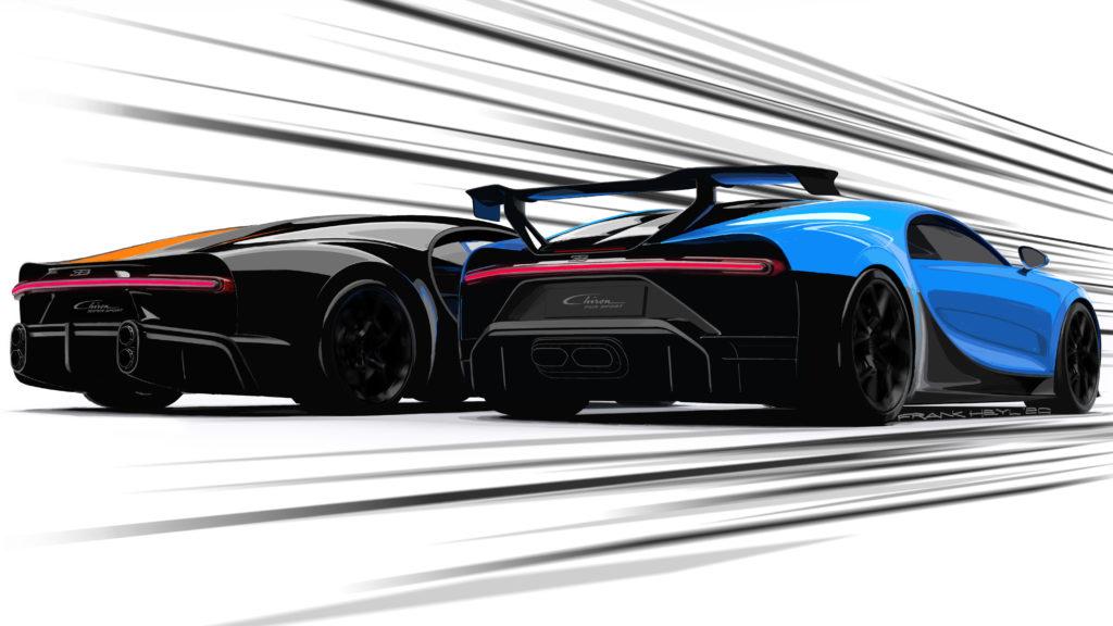 Bugatti Chiron Pur Sport   © 2020 BUGATTI AUTOMOBILES S.A.S.