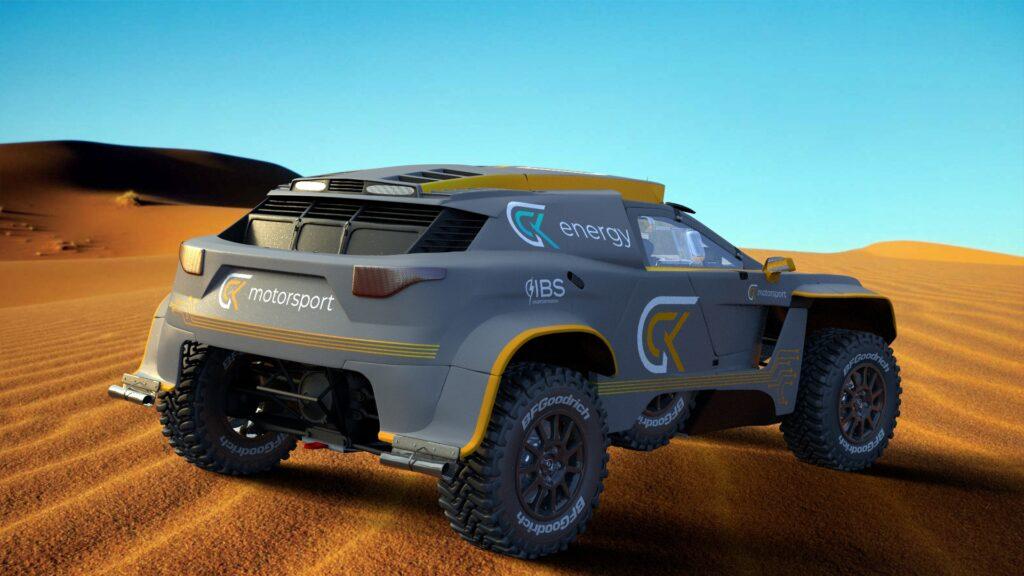 GCK Motorsport e-Blast 1   © 2020 GCK