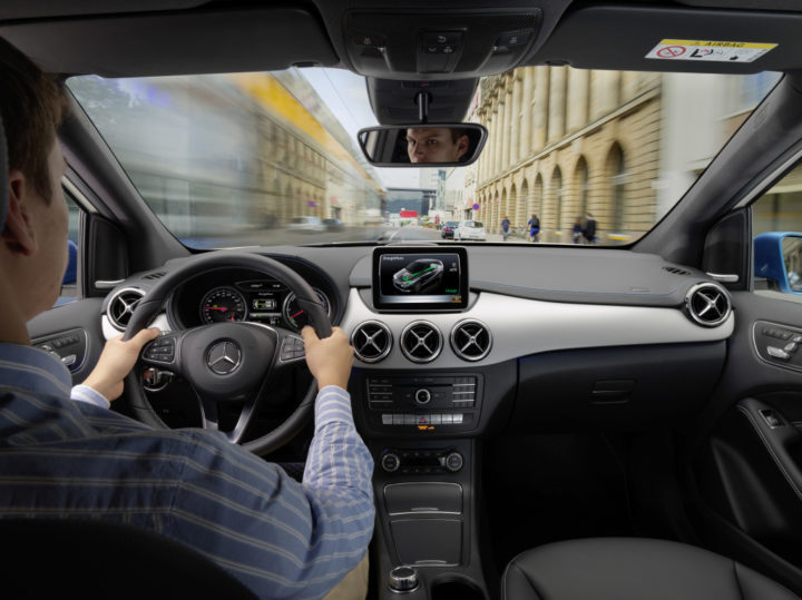 Mercedes-Benz B-Klasse Electric Drive | © 2019. Daimler AG