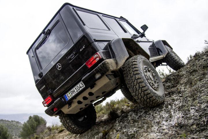 Mercedes-Benz G 500 4x4² | © 2020 Daimler AG