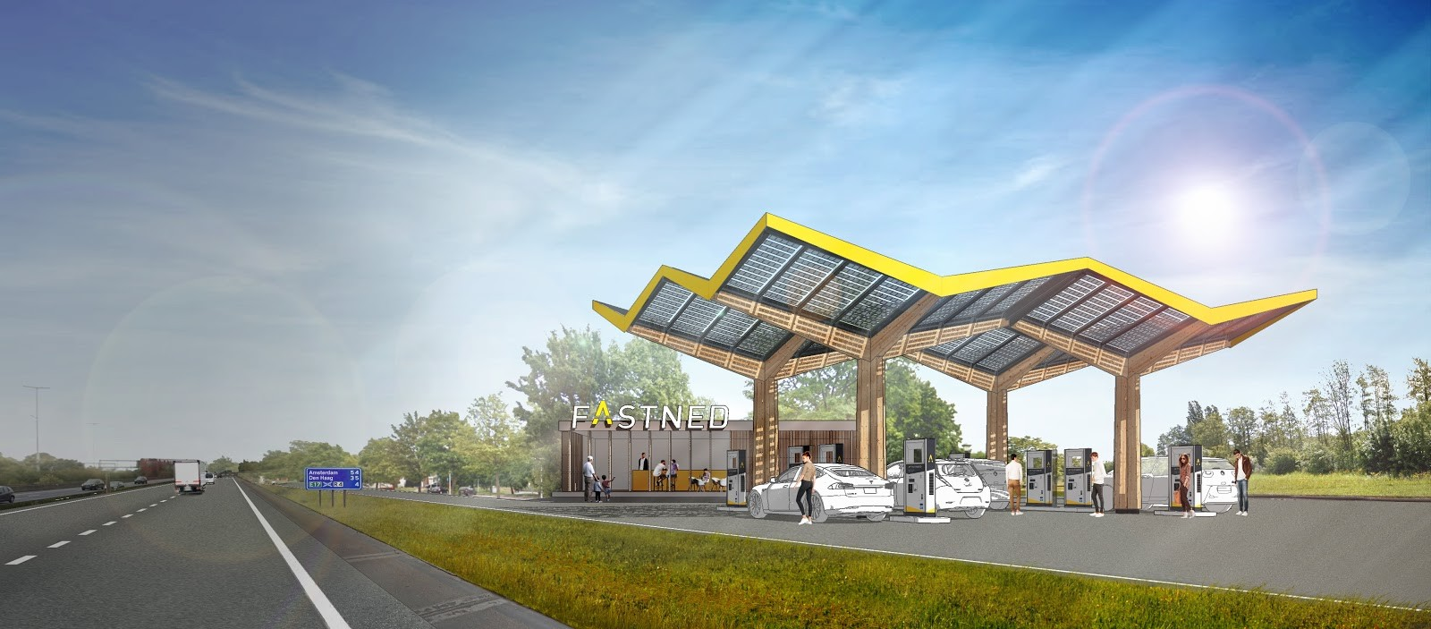 ⚡Fastned-Offensive An M-Vs Autobahnen!⚡