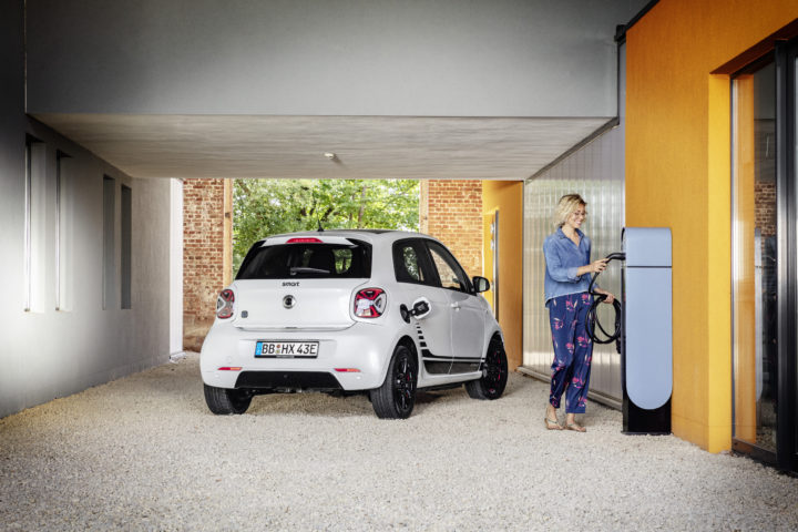 Smart EQ ForFour | © 2019. Daimler AG