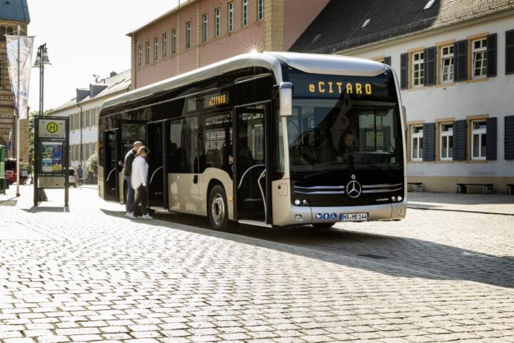Mercedes-Benz ECitaro | © 2020 Daimler AG