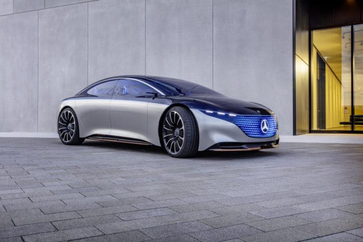 Mercedes-Benz EQS Concept | © 2019. Daimler AG