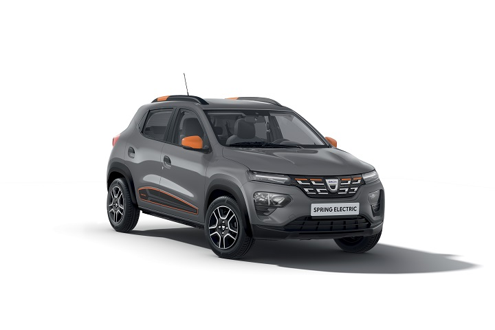 DACIA SPRING ELECTRIC   © Groupe Renault 2020
