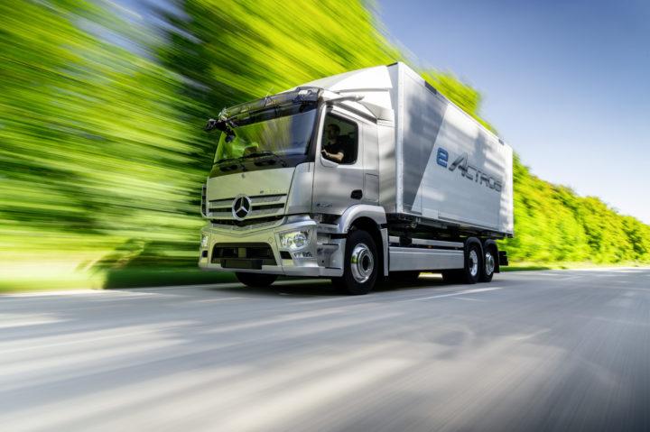 Mercedes-Benz EActros | © 2020 Daimler AG