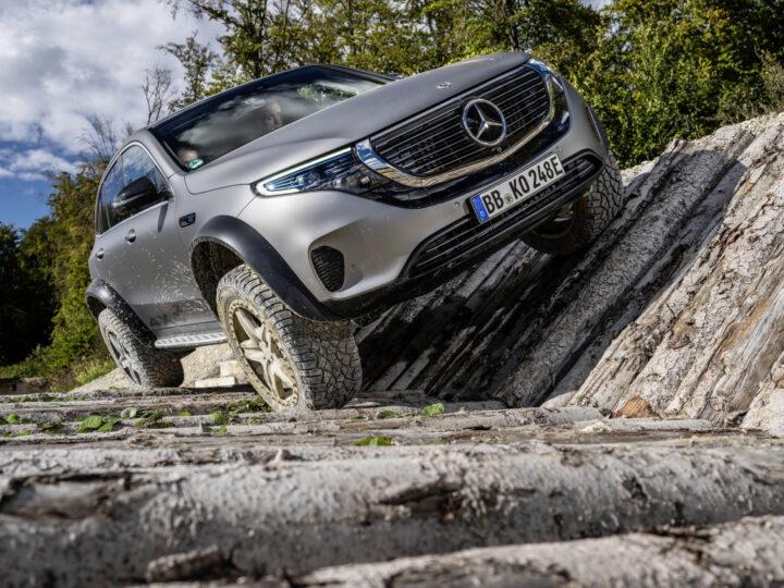 Mercedes-Benz EQC 4x4² | © 2020 Daimler AG