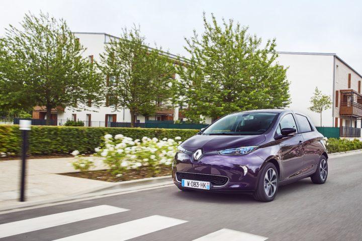 2018er Renault ZOE | ©Renault
