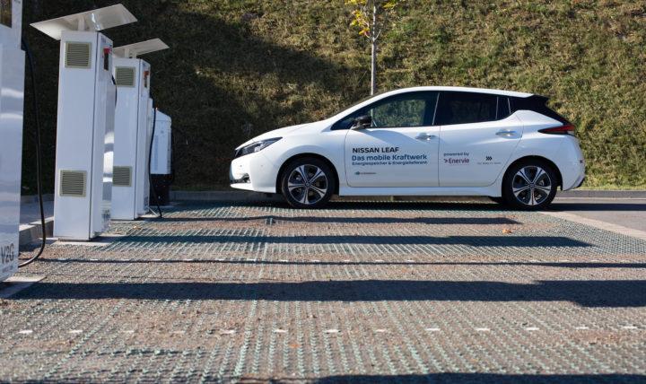 Nissan Leaf Charging | © Nissan 2019