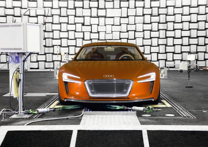 Audi R8 E-tron Sounddesign | ©Audi AG