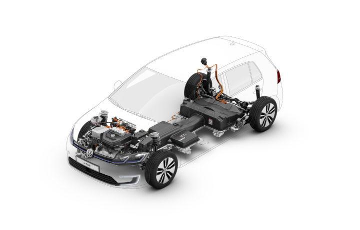 VW E-Golf Baugruppen | ©Volkswagen