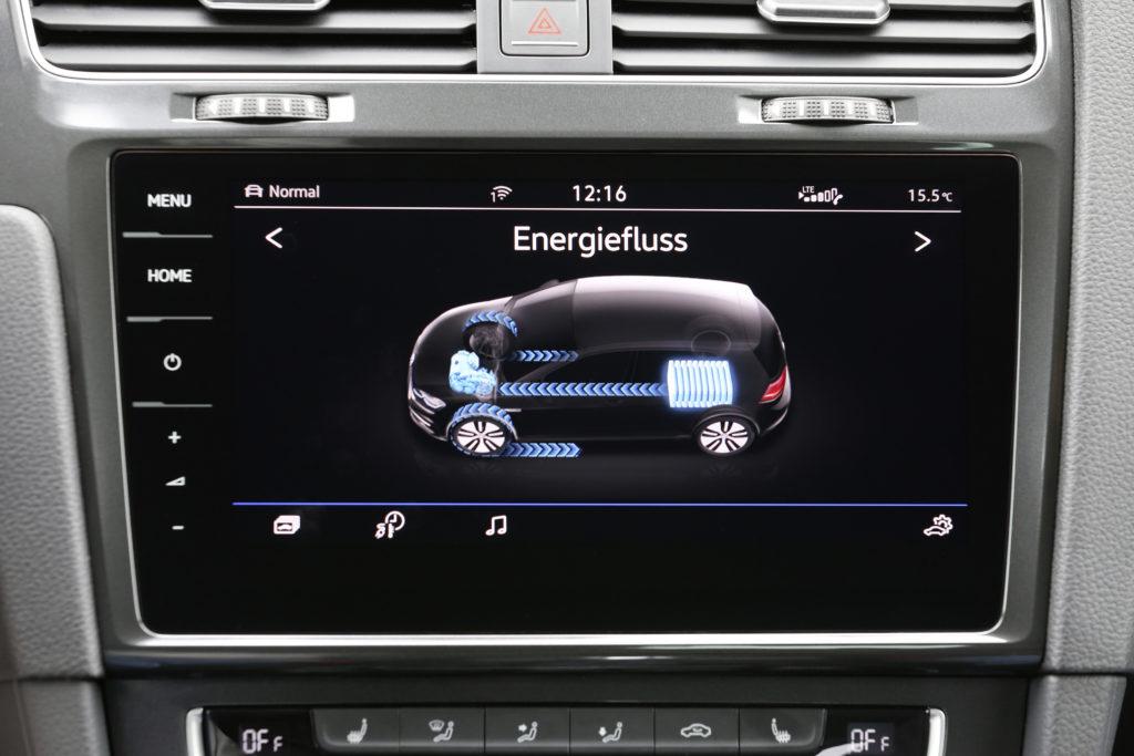 VW e-Golf Energiefluss   ©Volkswagen