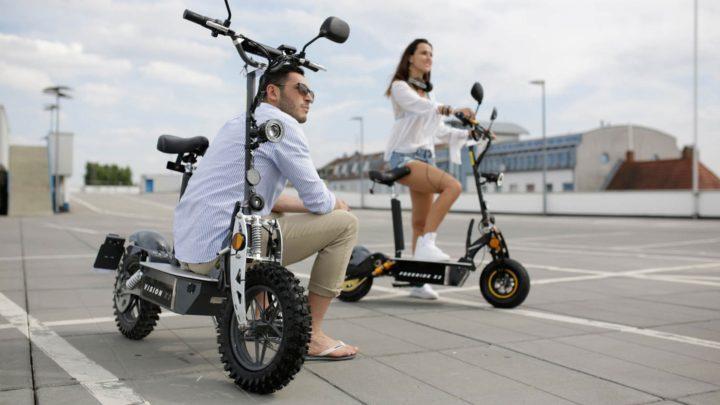 EFlux Scooter Für Die Innenstadt | ©Miweba GmbH