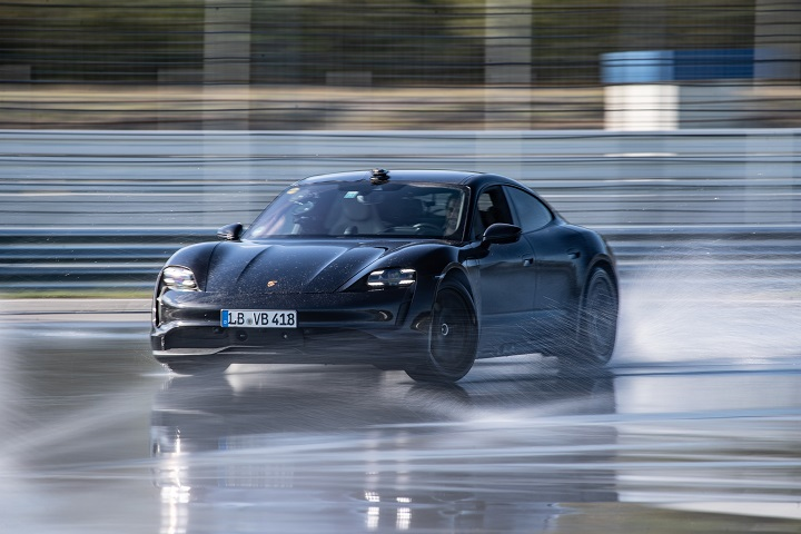Porsche Taycan Drift Rekord | © 2020 Dr. Ing. H.c. F. Porsche AG