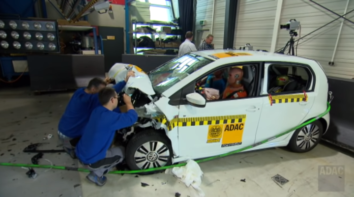 Crashtest VW E-up! | ©ADAC