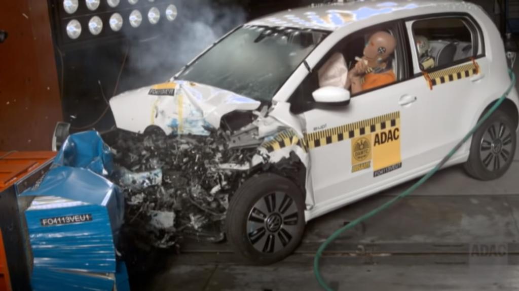 Crashtest VW e-up! | ©ADAC