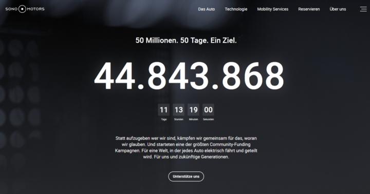 ⚡10 Mio. Euro Für Sono Motors⚡