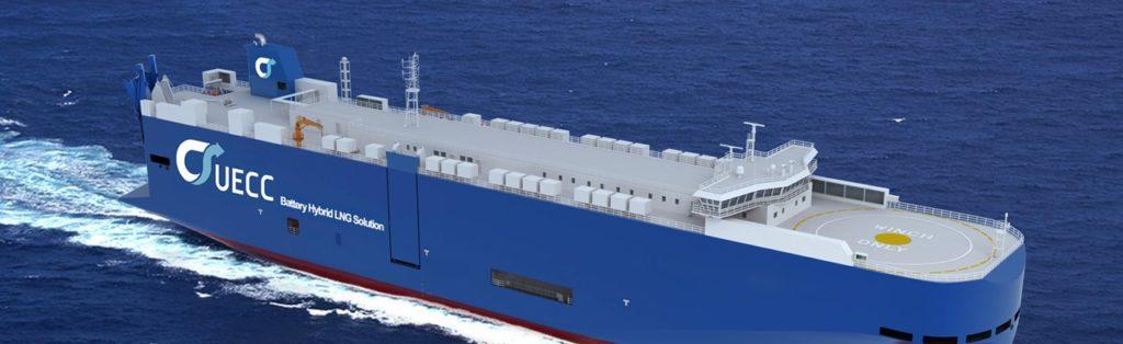 Hybrid-Transportschiff der UECC | ©UECC