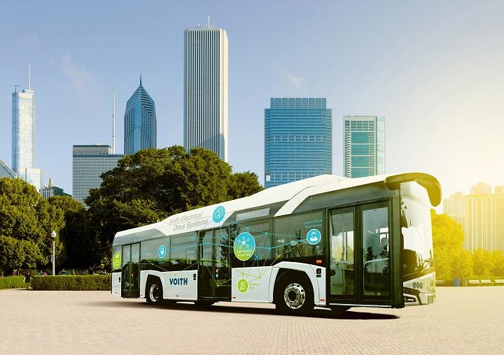 Voith E-Bus-System | © Voith GmbH & Co. KGaA 2020