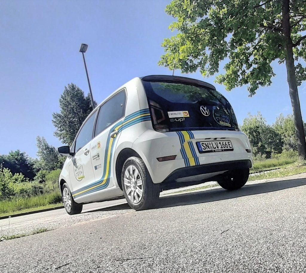 VW e-up! | ©MV-tankt-Strom