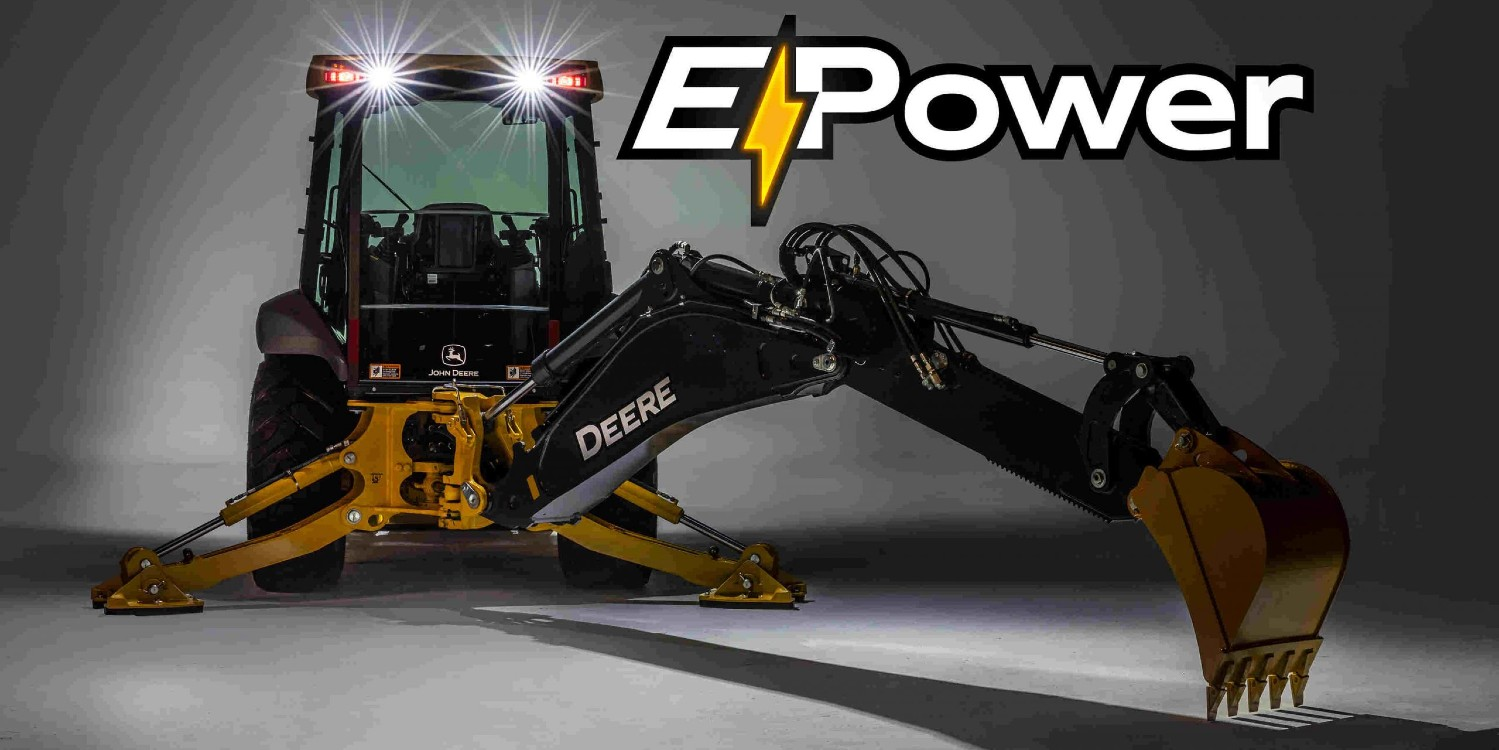 John Deere E-Power | © John Deere Walldorf GmbH & Co. KG