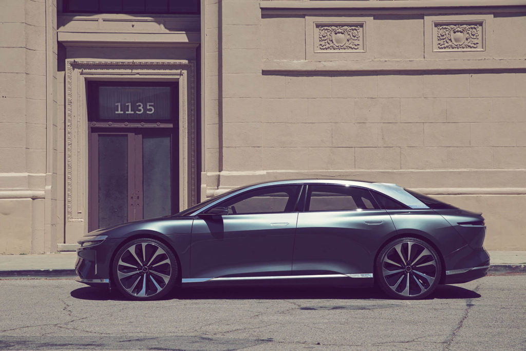 Lucid Motor Air | ©2019 Lucid Motors, Inc.