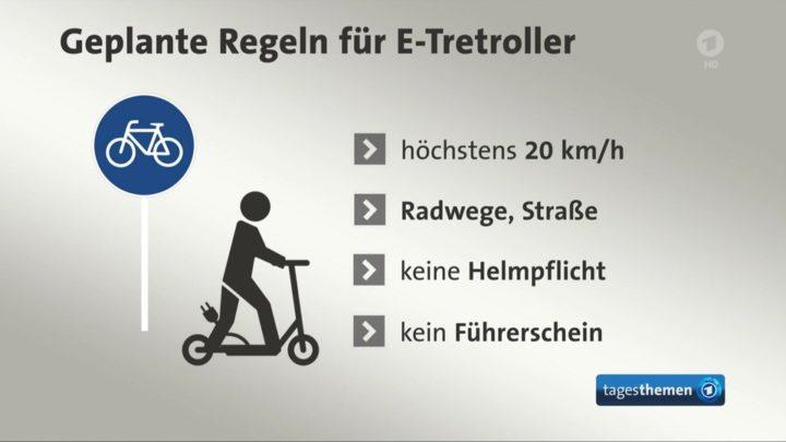 E|Tretroller Regeln | © ARD-aktuell