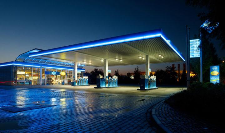 Klassische Aral Tankstelle | ©Aral
