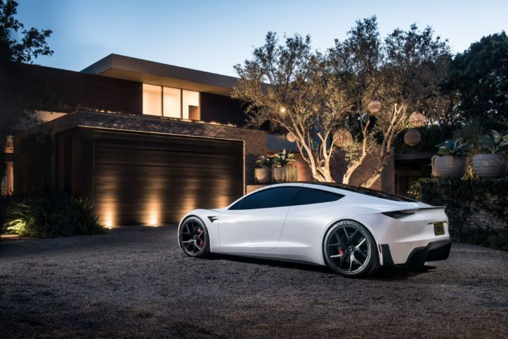 Tesla Roadster II | © Tesla 2020