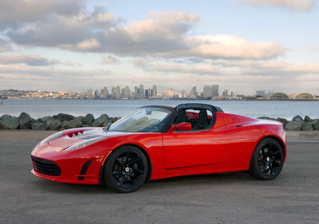 Tesla Roadster I   © Tesla 2020